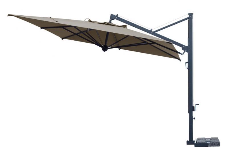Restaurante de parasoles en voladizo Galileo Dark SCOLARO