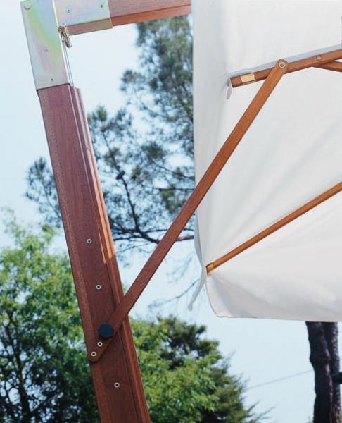 Parasol de mástil lateral de calidad Palladio Braccio SCOLARO