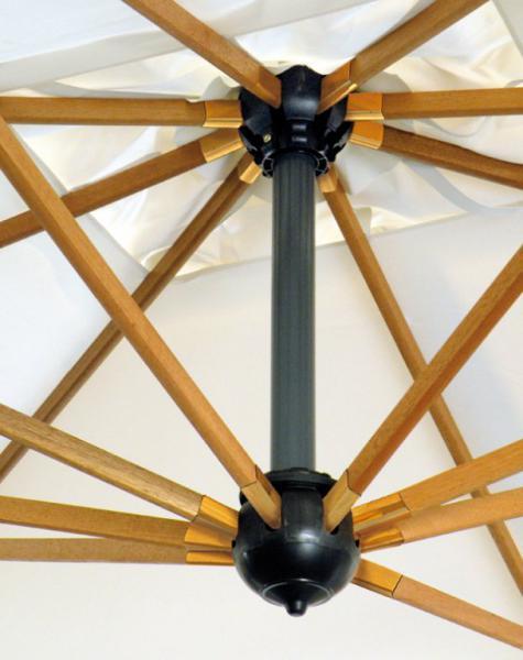 Gran parasol de mástil lateral Palladio Braccio SCOLARO