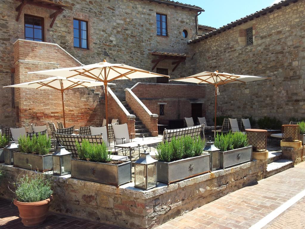 Parasol bois mat central Palladio Standard SCOLARO