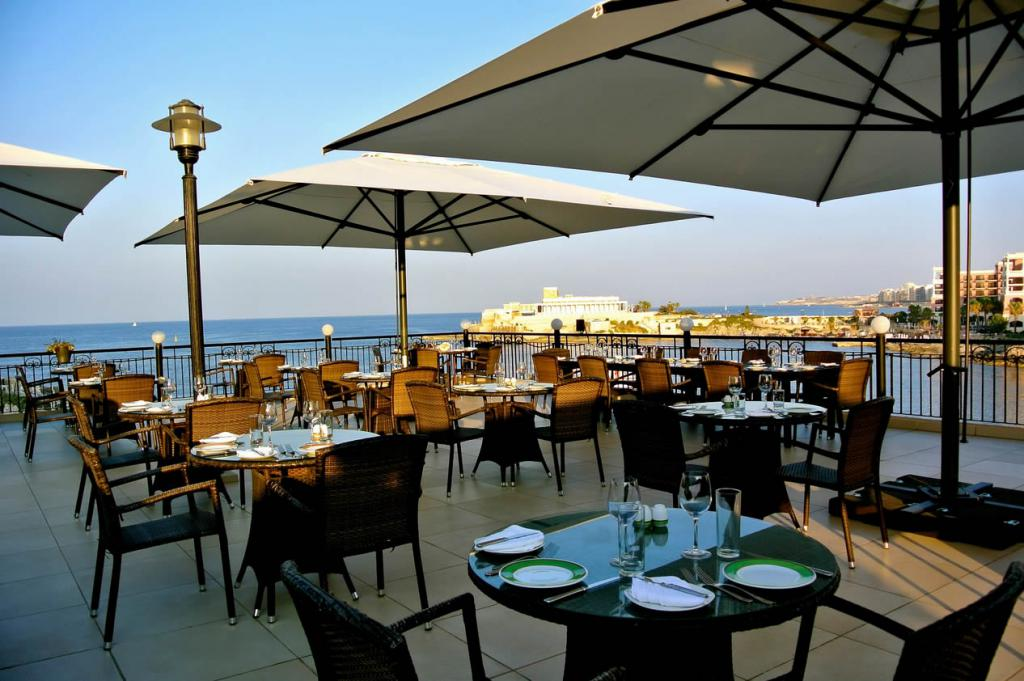 Parasol grande para hotel Capri Dark o Starwhite SCOLARO