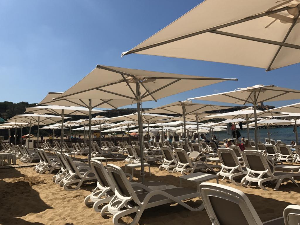 Parasol table bistro Marina SCOLARO